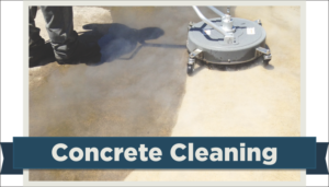 Concrete cleaning by A Pane-less Solution in Delray Beach, FL